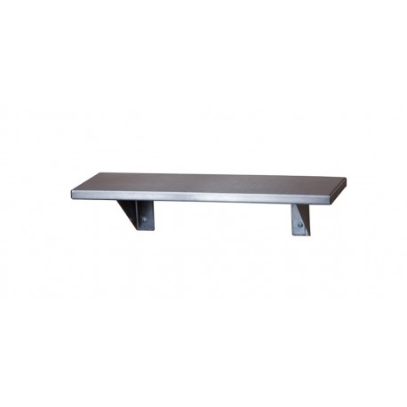 "Stainless Steel Shelf 5"" x 16"""