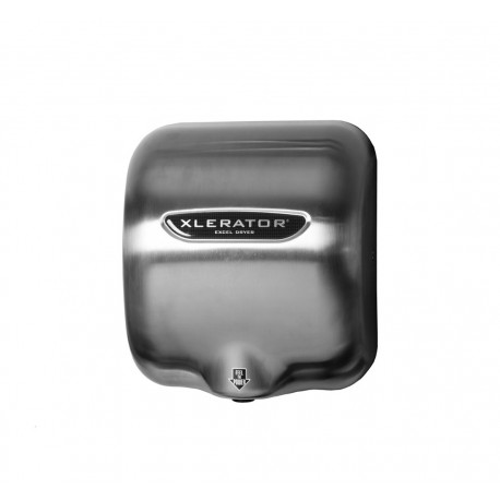 Xlerator Hand Dryer, Brushed Stainless Cover