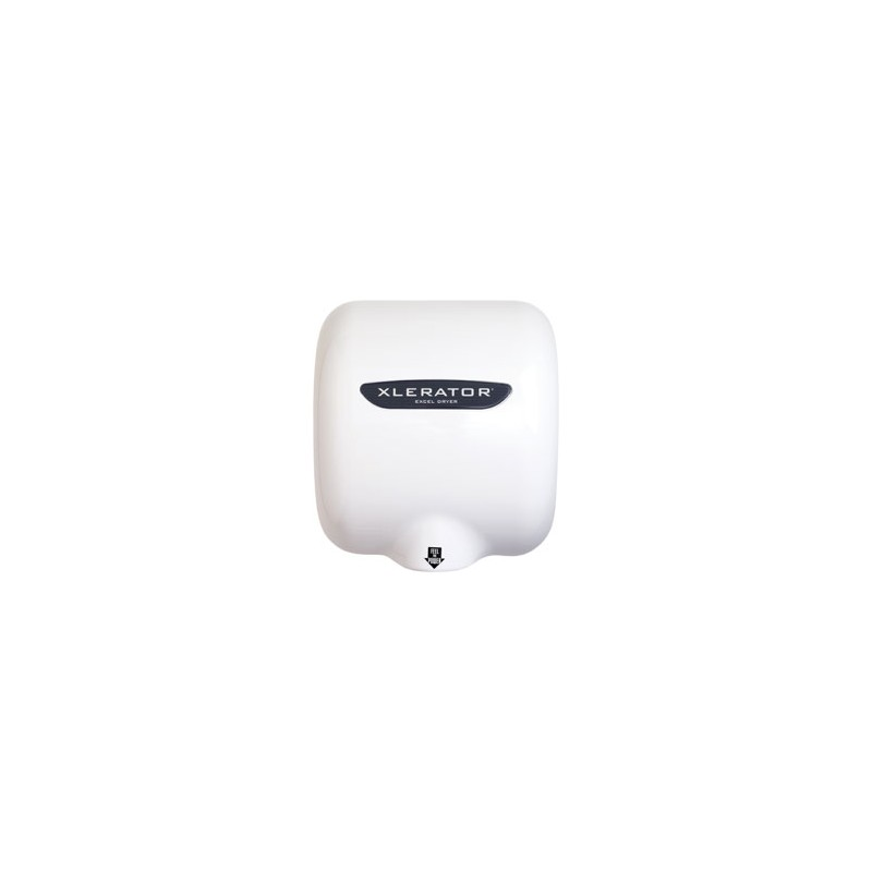 xlerator hand dryer white epoxy painted cover